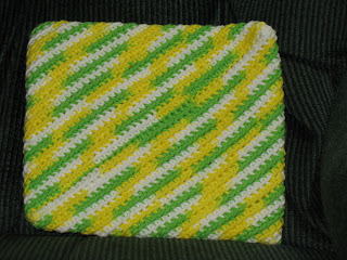 KNITTED PATTERN POTHOLDER 1000 Free Patterns