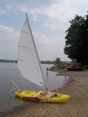 kayak sailing designs: Performance Sailing Kayak