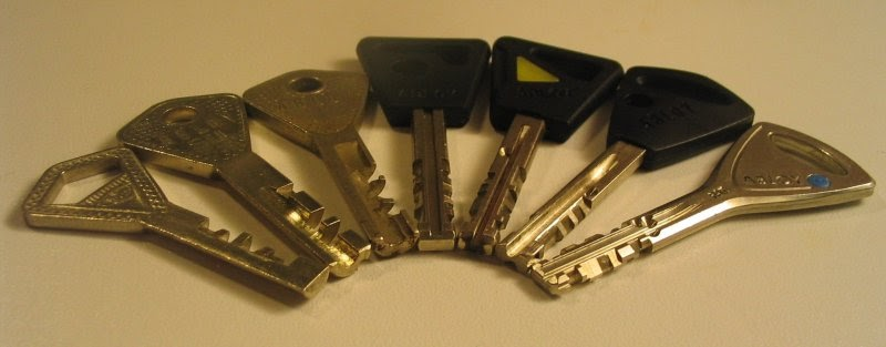 Haittalevy: Abloy avaimet