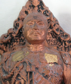 King Rama V image on our Buddha Shelf