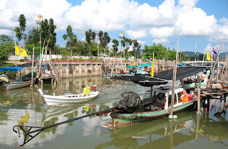 Bang Yai canal at Sapan Hin, the south side of Phuket Town