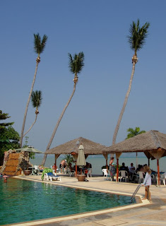 Pool at Friendship Beach, right by the beach