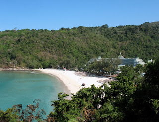 View of Le Meriden Beach Resort from the road between Patong and Karon beaches