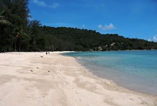 Tri Trang Beach near the Tri Trang Beach resort