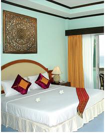 Room at Tritrang beach resort