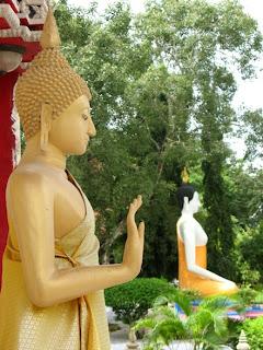 Buddhas at Manik Temple