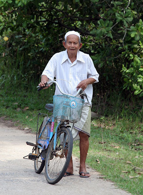 Local man and his bike, Koh Yao Noi
