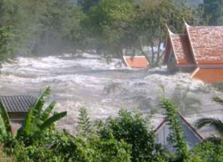 Kamala Temple hit by the tsunami