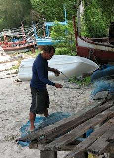 Ao Manao fisherman