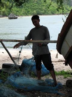 Fisherman at Ao Mano