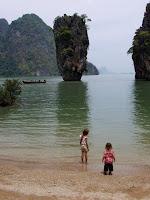 View from James Bond Island, Phang Nga Bay