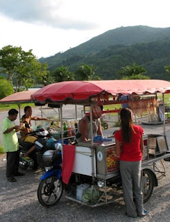 Food Stall at Bang Wad Reservoir