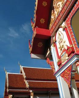 External view of Wat Sawang Arom