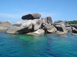 Granite Boulders, Similan Islands