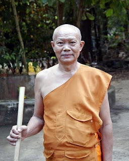 Monk at Wat Sam Kong, Phuket