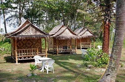 Huts at the Seaside Cottages, Mai Khao Beach