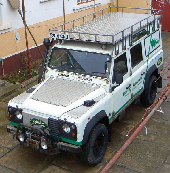 Roving Romania: Land Rover FOR SALE - CLICK HERE for full ...