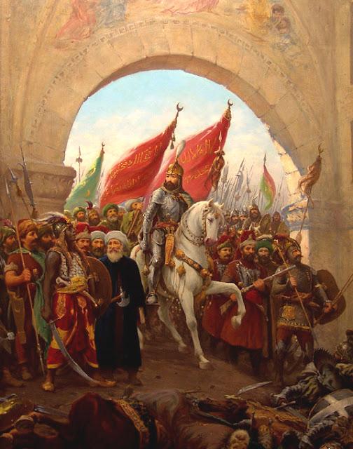 1453 - La caida de Constantinopla.