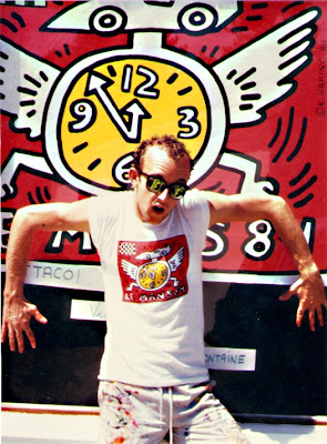 keith haring portrait