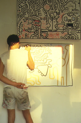 keith haring performer