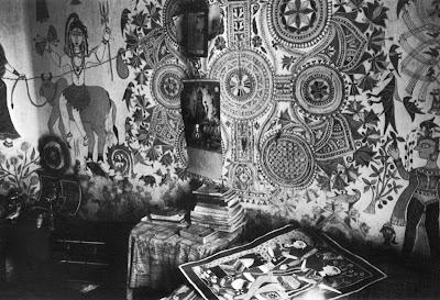 ganga devi house wall painting mithila madhubani