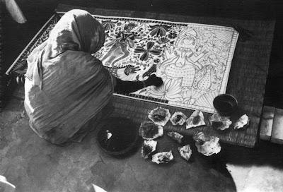 ganga devi painting mithila madhubani
