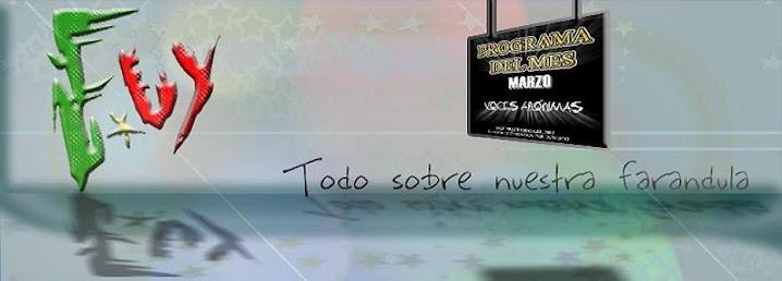 FARANDULA.UY  |  TODO SOBRE LA FARÁNDULA URUGUAYA