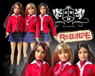 barbie rebelde