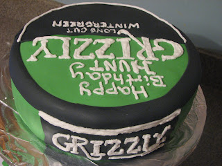 Copper Top Cakery, LLC (formerly Soror Sweets): Grizzly Bday Cake