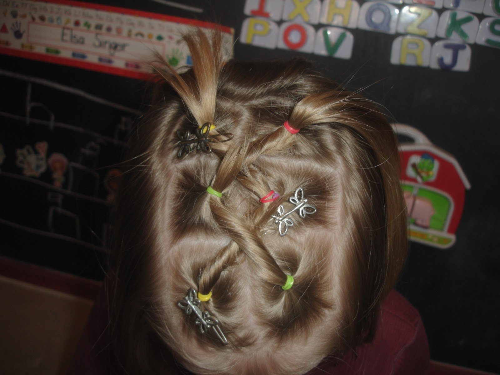 Lately Ive been doing some cute things with my little Abbys hair It . 1600 x 1200.Cute Hairstyles 7 Year Olds