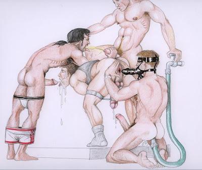Boy cartoon bondage gay first time 9
