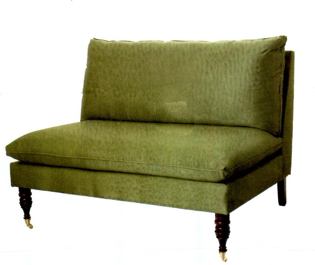 small sofa bed without arms comfortable modern reviews more mostly armless settees design manifestdesign manifest