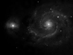 M51 FOTO EN ATLANTE.ORG Telescopio: Losmandy G11 (sin guiado) + Visac f9