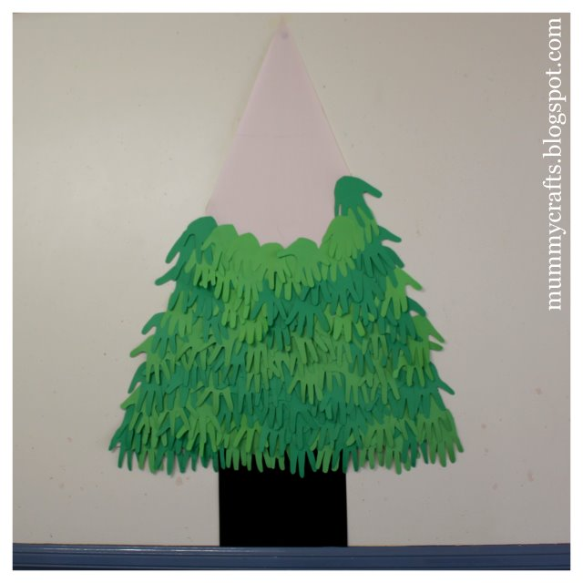 Image Result For Art And Craft Xmas Tree