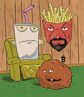 aqua teen hungerforce coloring pages - photo#28