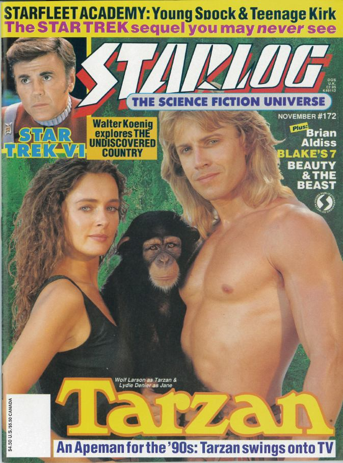 Me German Tarzan You French Jane The Starlog Project Starlog