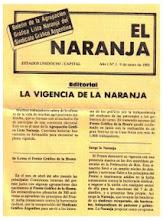 1º Boletín - Enero 1985