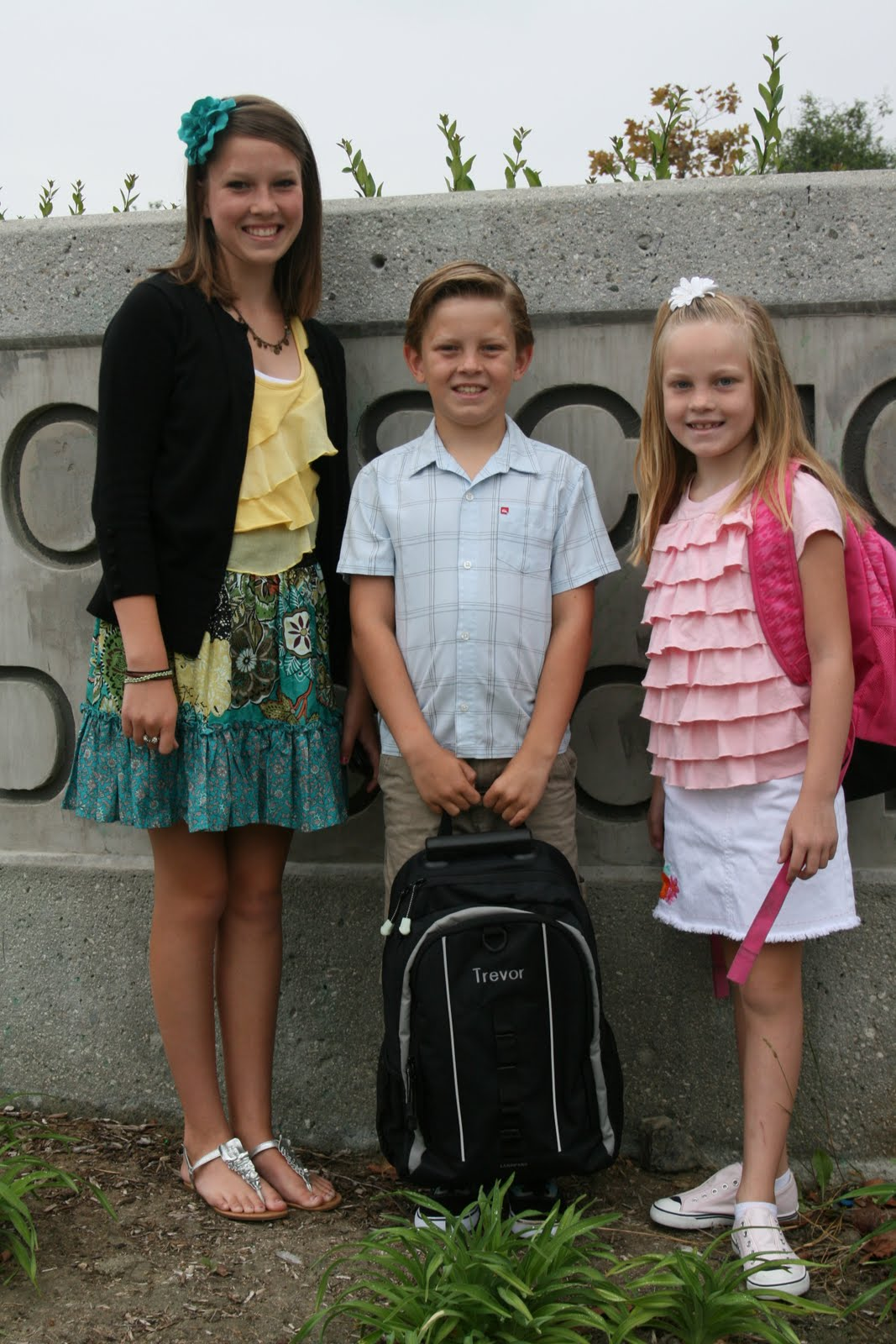 Jones Party Of Six First Day Of School