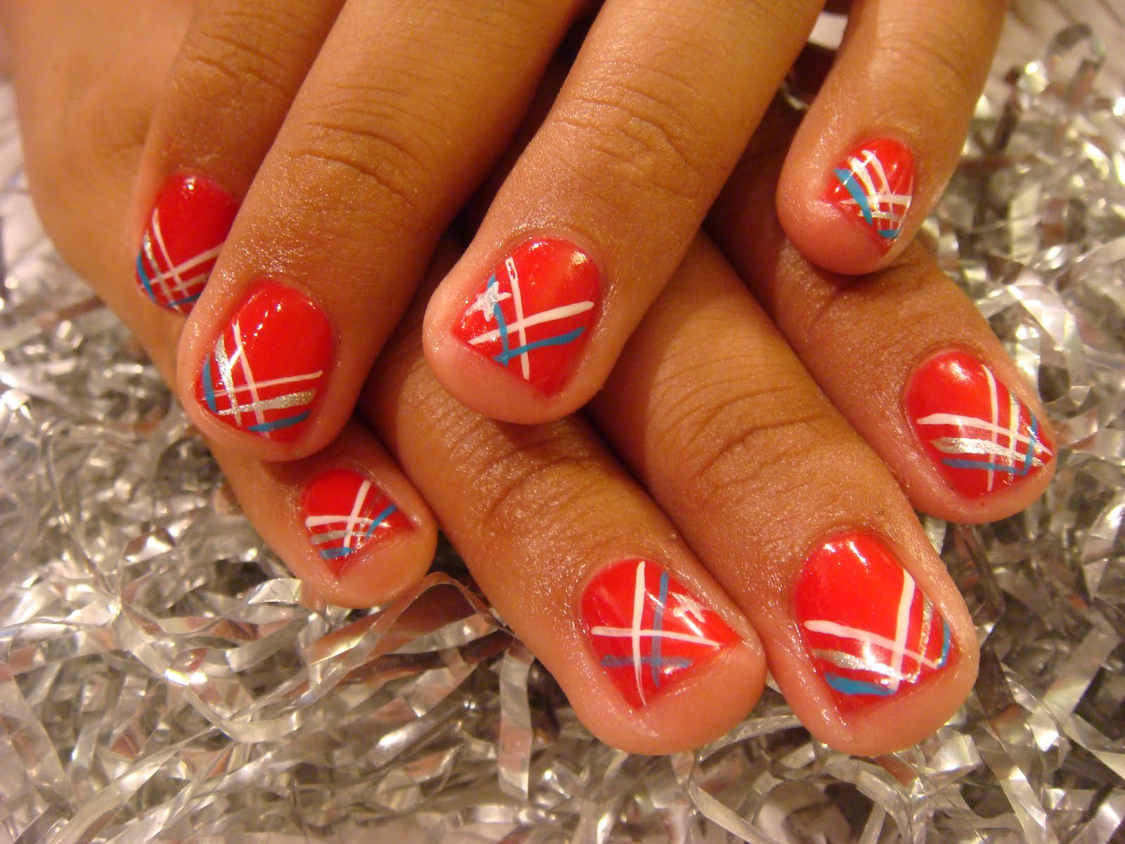 ACRYLIC PATRIOTIC NAILS | Nails Acrylic