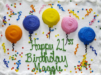 Just Live: Happy Birthday Maggie
