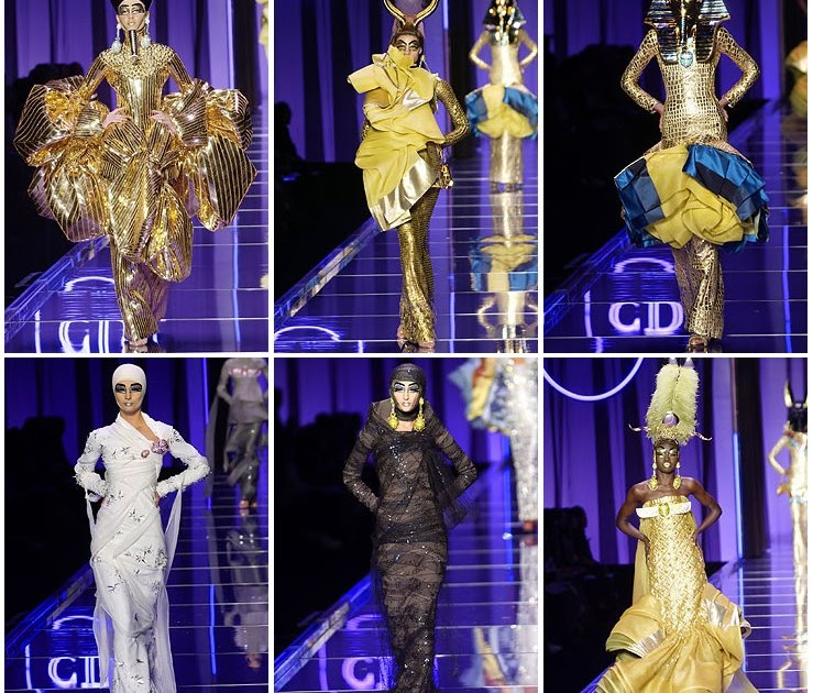 My Costume Page Ancient Egyptian Inspired Designs Of John Galliano