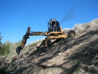 spider excavators spider hoe