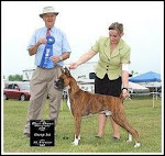 Best in Group, St. Francis Kennel & Obedience Club, Brome, Que., June 08