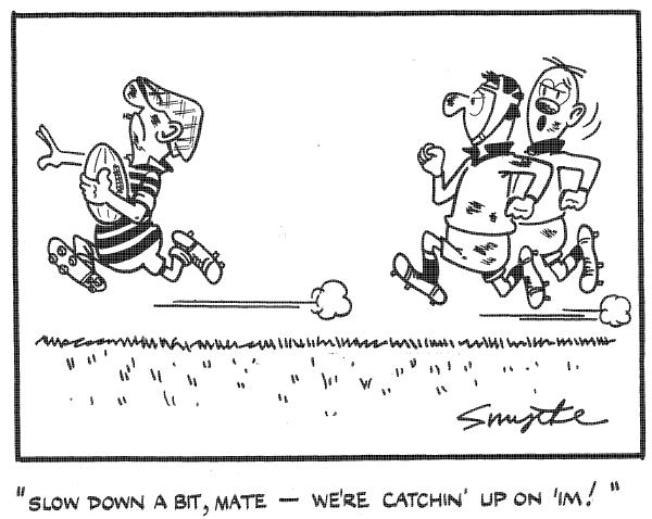 Moosemen Rugby: Andy Capp 1960