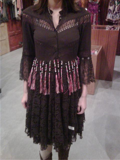 333f64eac2ca Vackra Veronica hade en helt underbar Odd Molly klänning som jag sett hos  Amy (Fitts and Company) tidigare för fanatsisummor och som är HELT  bedårande!!!