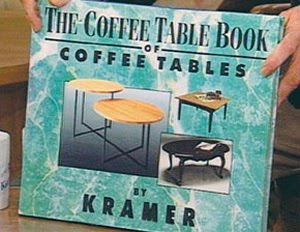 Metaprime Examples: Kramer's Coffee Table Book (via Seinfeld)