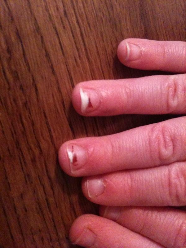 Mama Joules: Fingernails Are Like Tree Trunks