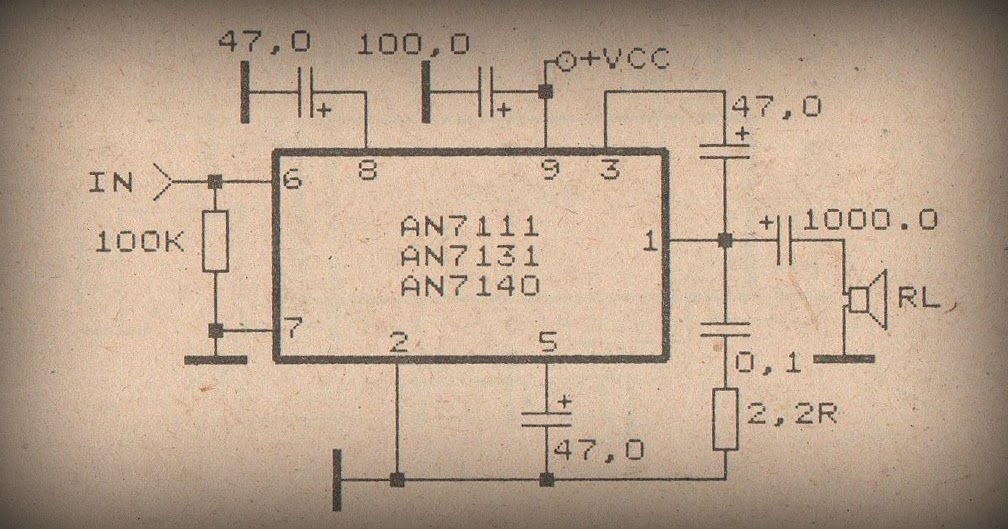 Power Amplifier Circuit With Ic Tda1904