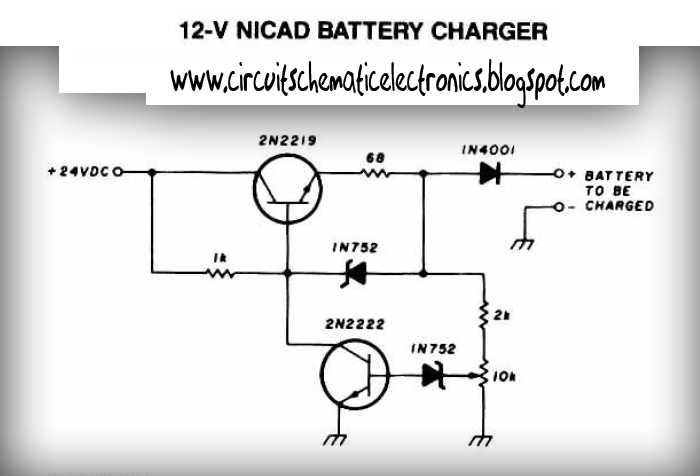 Nicad Charger Schamatic