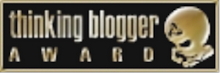 Thinking Blogger Award